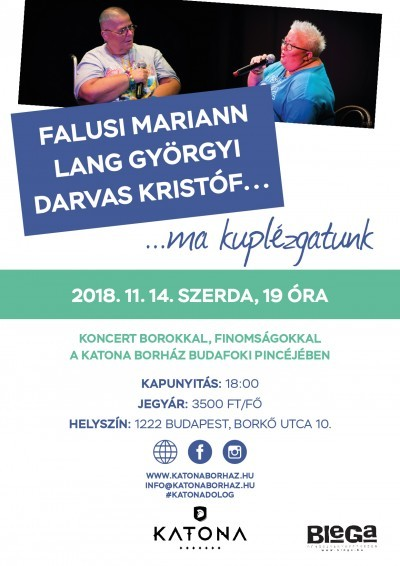 2018.11.14. FALUSI MARIANN - LANG GYÖRGYI - DARVAS KRISTÓF