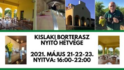 NYITUNK!!!! Teraszszezon indul Balatonbogláron!