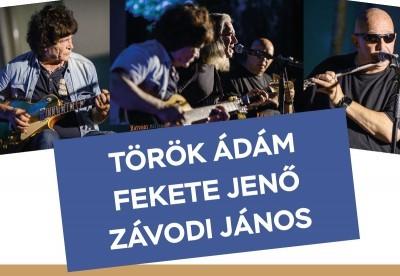 ÚJ IDŐPONT!!!! 2020. szeptember 25.  TÖRÖK-ZÁVODI-FEKETE Koncert